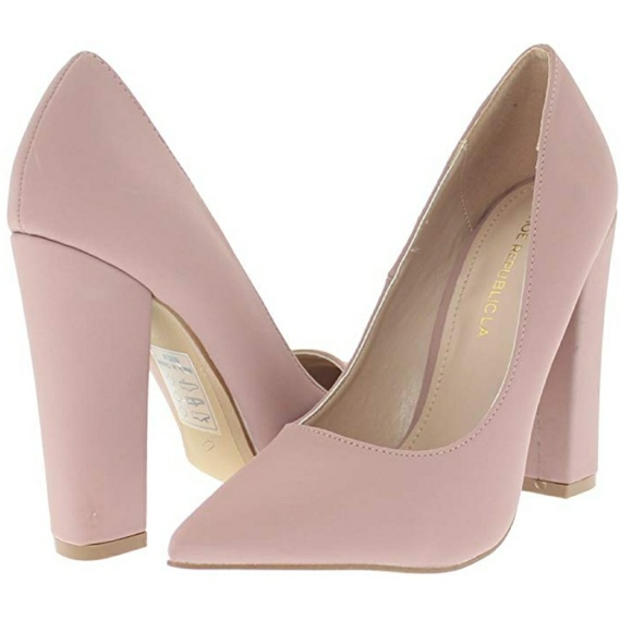 076cfd8dd6d Amazon- Mauve Pointy Toe Pump With Block Heel